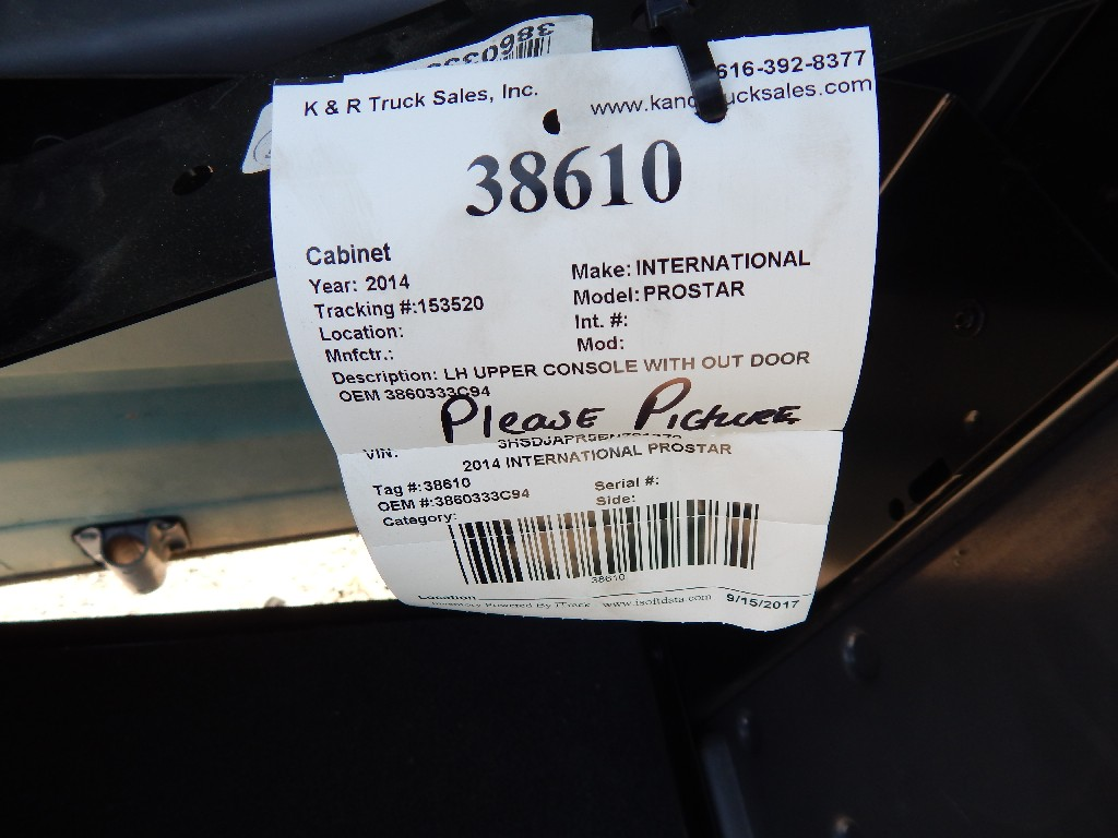 Front End Assembly for 2014 INTERNATIONAL PROSTAR for sale-59215686