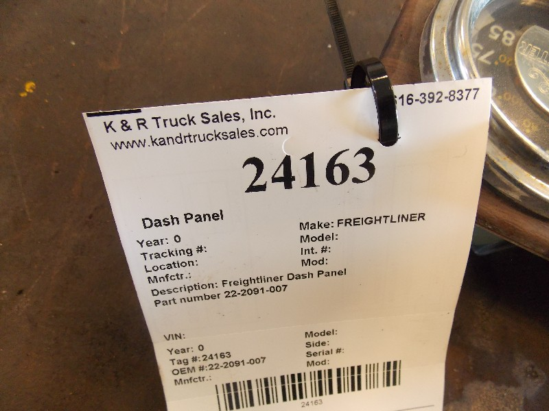 Dash Panel for  FREIGHTLINER for sale-59052616