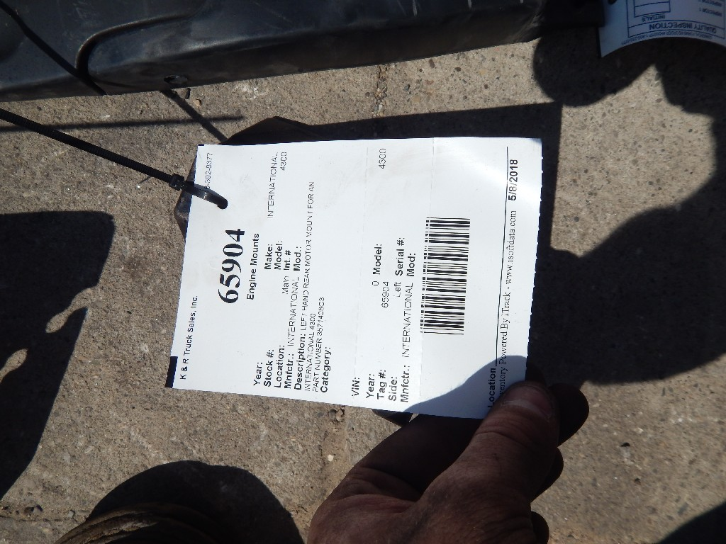 Used Engine Mounts for  INTERNATIONAL 4300 for sale-59335371