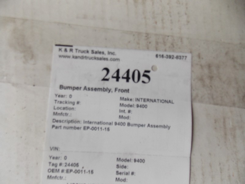 Bumper Assembly for  INTERNATIONAL 9400 for sale-59070392