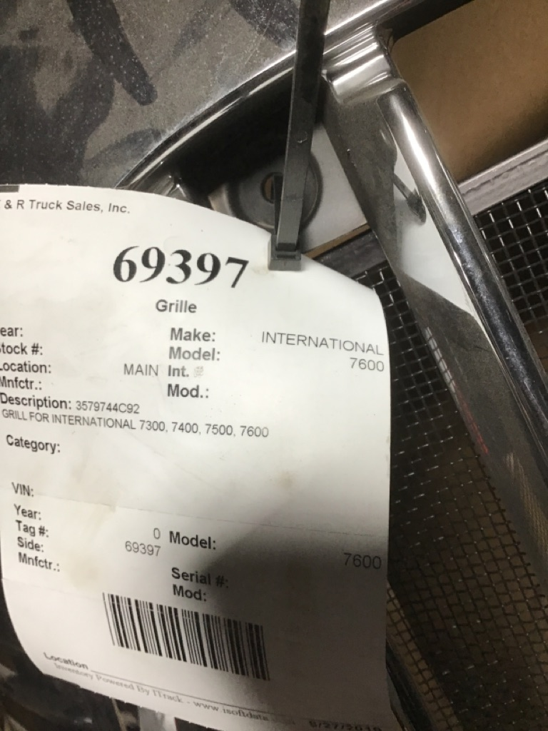 Used Grille for  INTERNATIONAL 7600 for sale-59335976