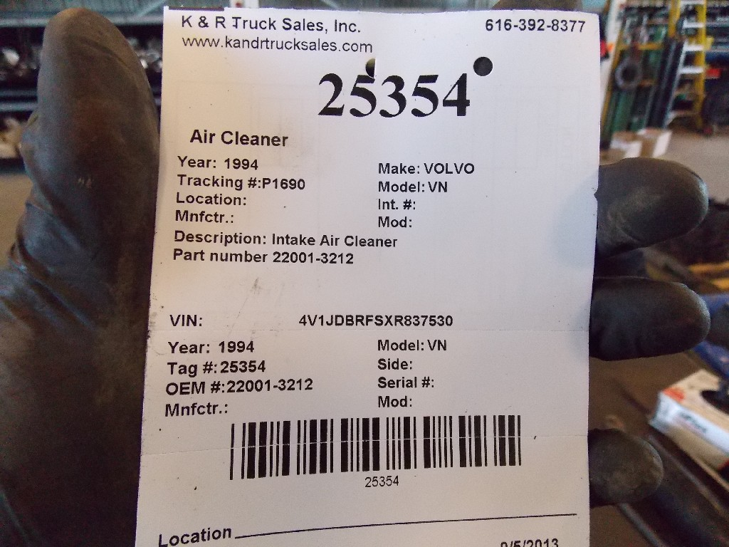 Air Cleaner for 1994 VOLVO VN for sale-59070474