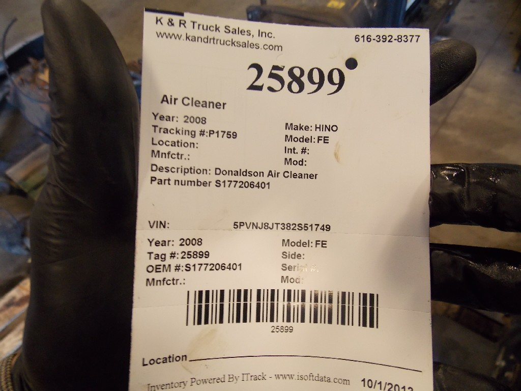 Air Cleaner for 2008 HINO FE for sale-59070513