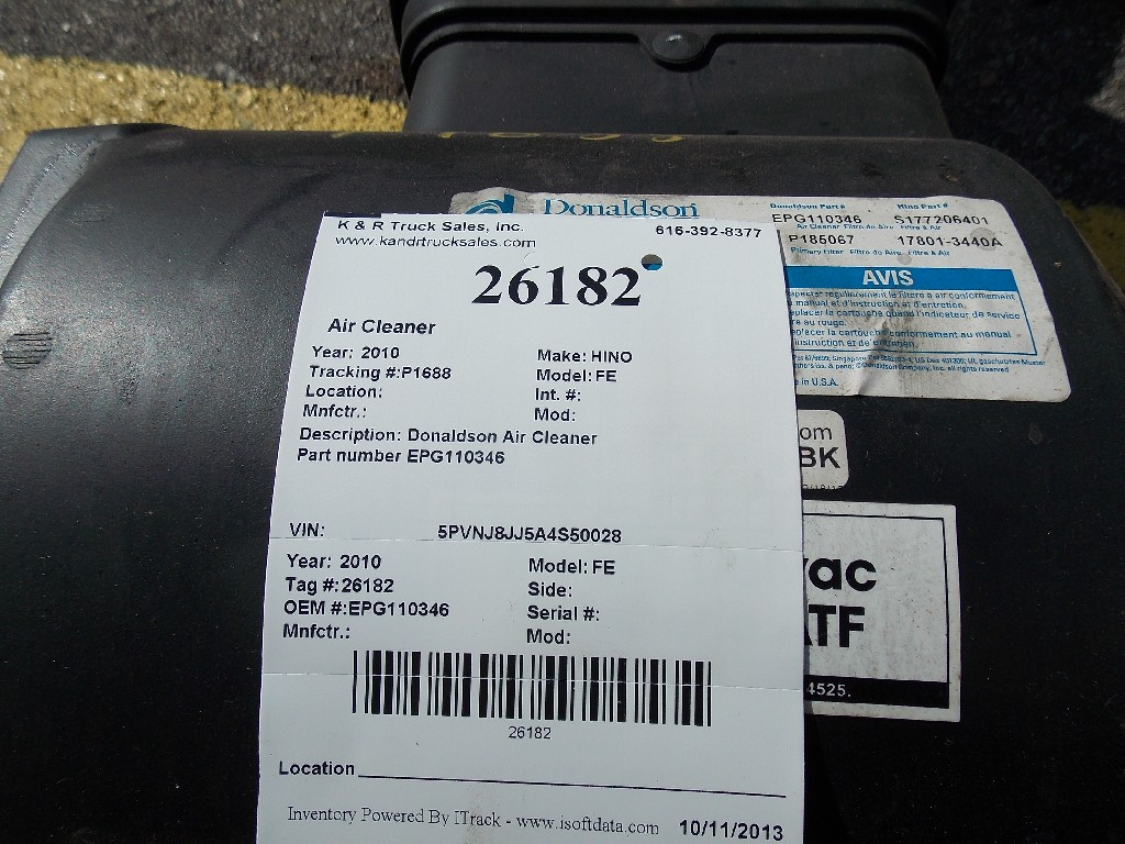 Air Cleaner for 2010 HINO FE for sale-59070535