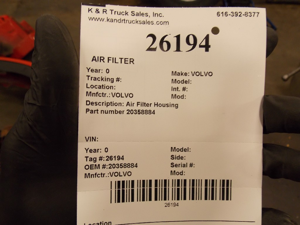 Air Cleaner for  VOLVO for sale-59070538