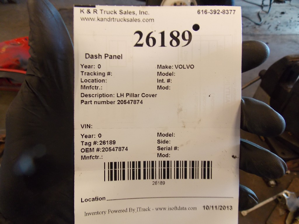 Dash Panel for  VOLVO for sale-59070537