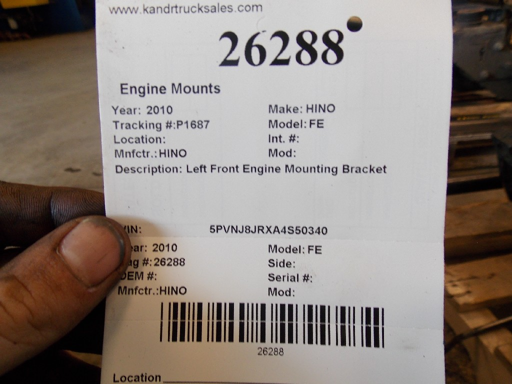 Engine Mounts for 2010 HINO FE for sale-59070546