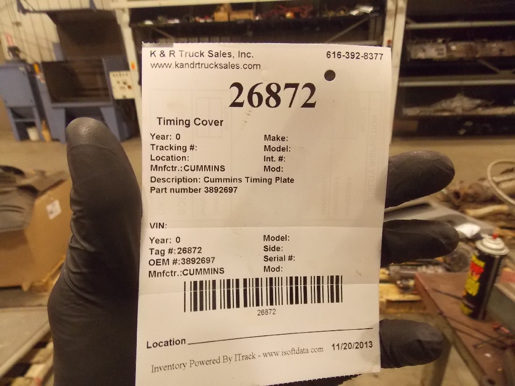Engine Timing Cover for for sale-59080531