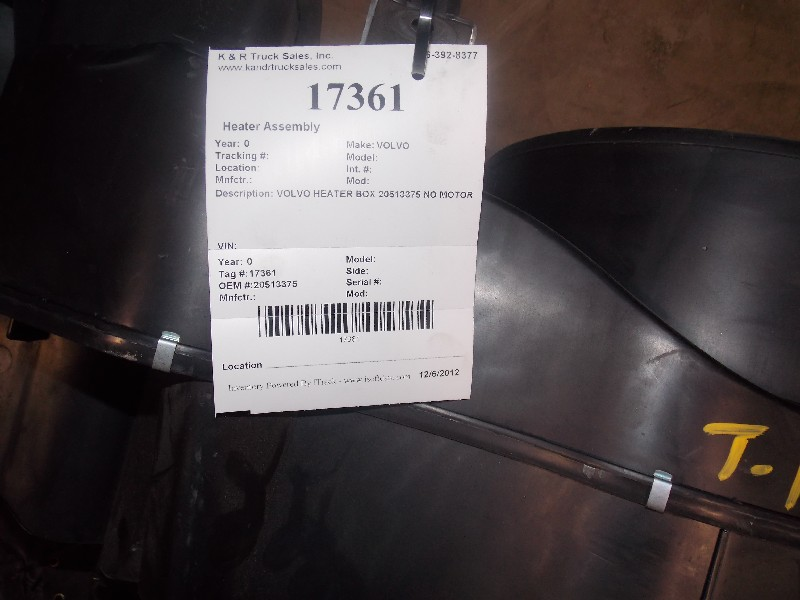 Heater Assembly for  VOLVO for sale-59052112
