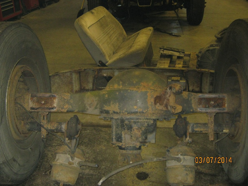 Axle Housing for 1999 FREIGHTLINER FL112 for sale-59080621