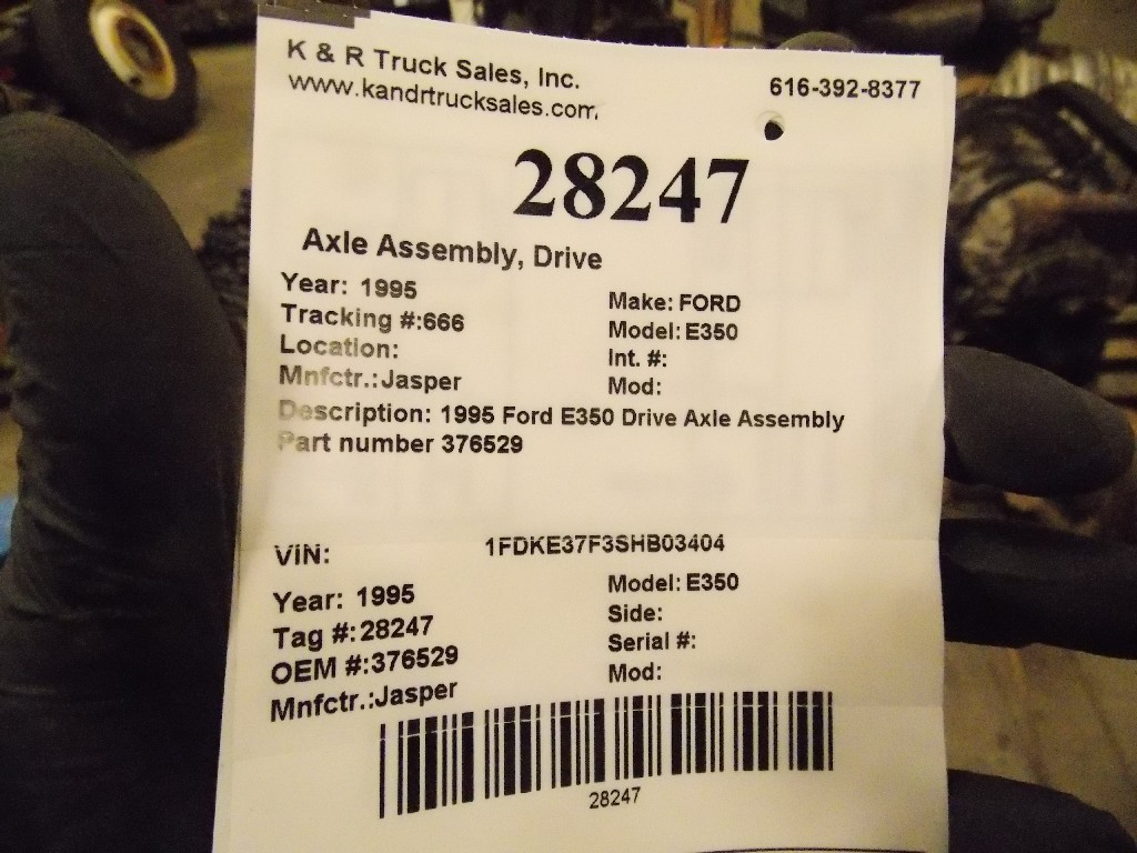 Axle Assembly for 1995 Ford E350 for sale-59080639