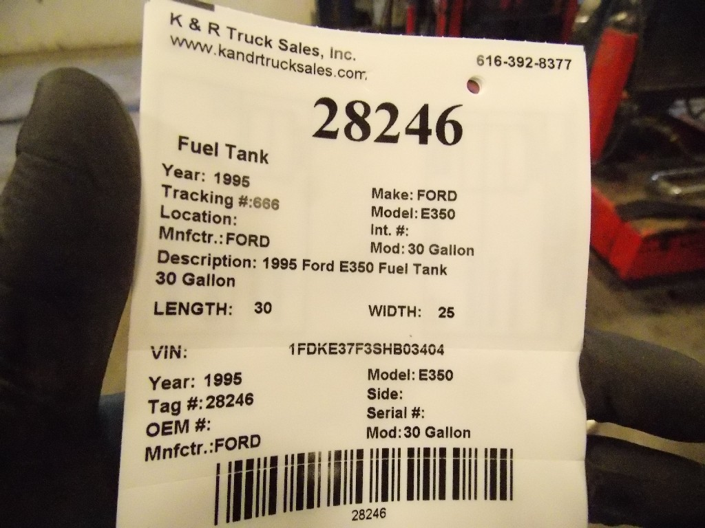 Fuel Tank for 1995 Ford E350 for sale-59052943