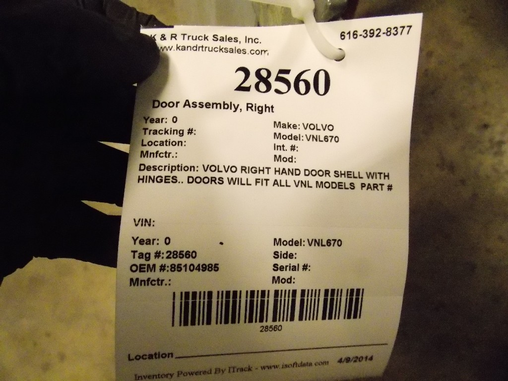 Used Door Assembly for for sale-59335414