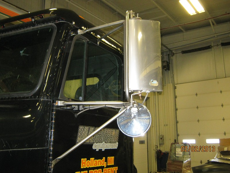 Door Mirror for 1998 FREIGHTLINER FLD 120 for sale-59070001
