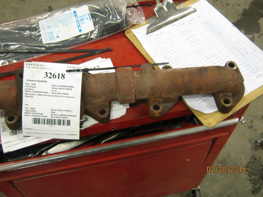 Exhaust Manifold for 2009 INTERNATIONAL MAXX FORCE for sale-59081011