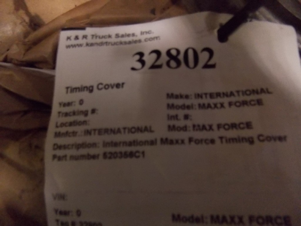 Engine Timing Cover for  INTERNATIONAL MAXX FORCE for sale-59081033