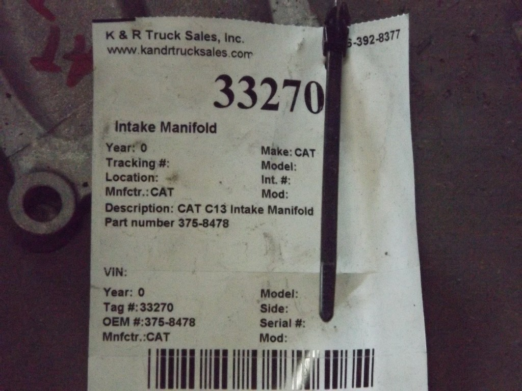 Intake Manifold for  Caterpillar for sale-59053382