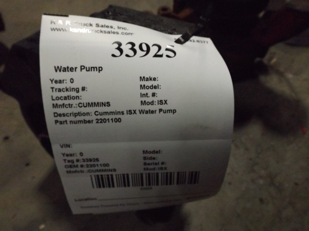 Water Pump for for sale-59285825