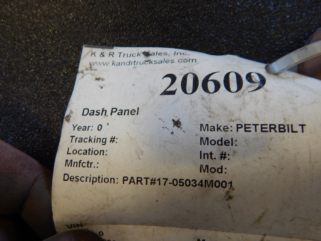 Dash Panel for  PETERBILT for sale-59070163
