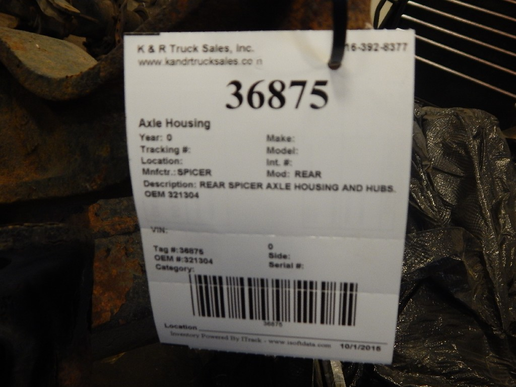 Axle Housing for for sale-59215532