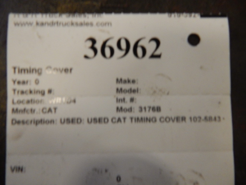 Engine Timing Cover for for sale-59215536