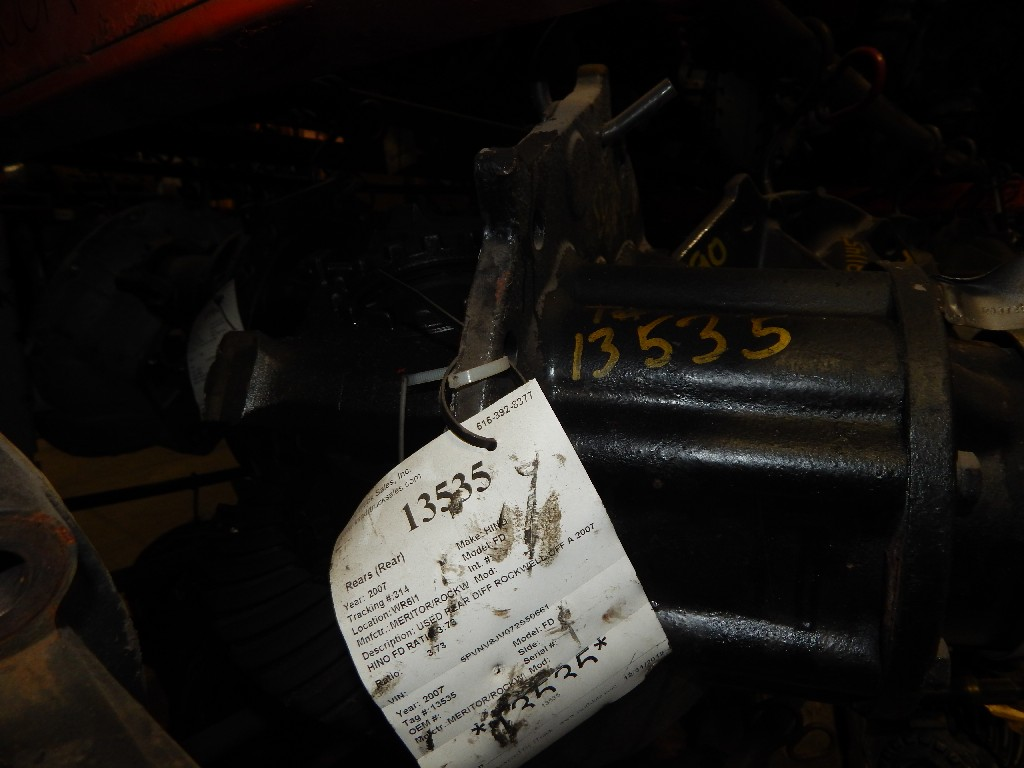 Used Rears (Rear) for 2007 HINO FD for sale-59051902