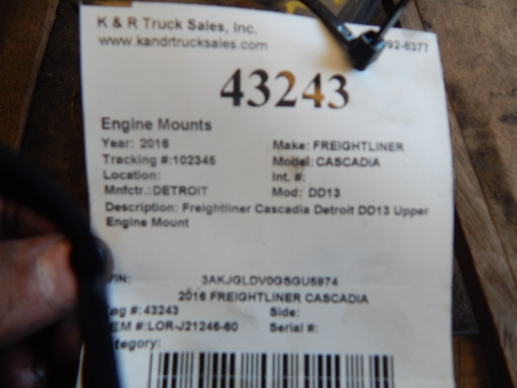 Engine Mounts for 2016 FREIGHTLINER CASCADIA for sale-59216059