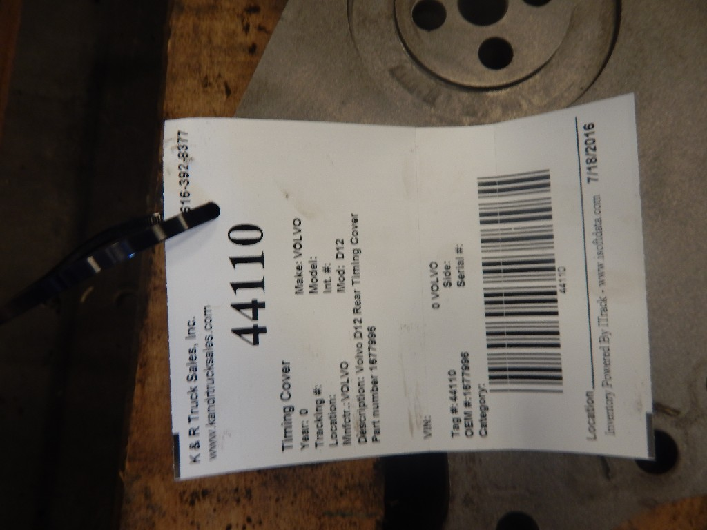 Engine Timing Cover for  VOLVO for sale-59054561