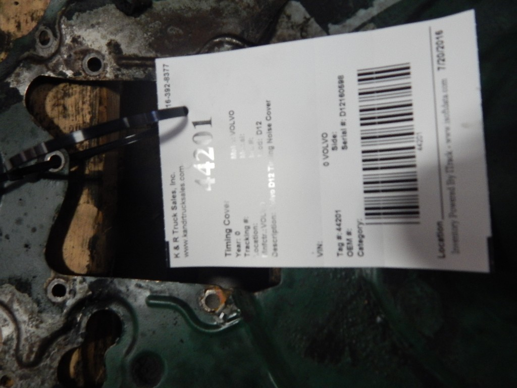 Engine Timing Cover for  VOLVO for sale-59216173