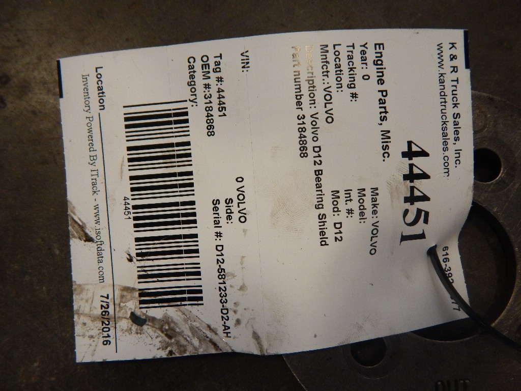 Parts for  VOLVO for sale-59216222