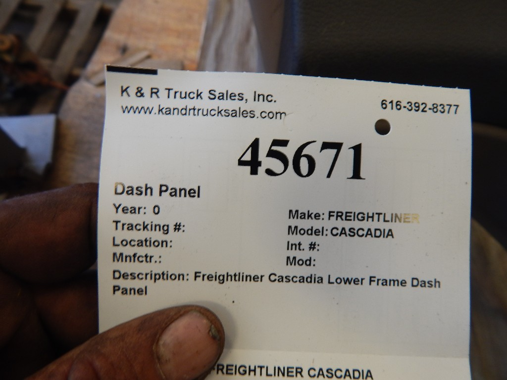 Dash Panel for  FREIGHTLINER CASCADIA for sale-59216470