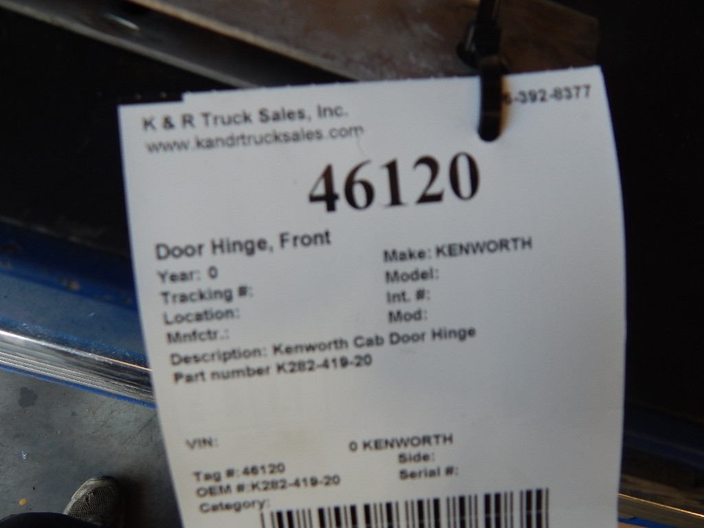Door Hinge for  KENWORTH for sale-59216524