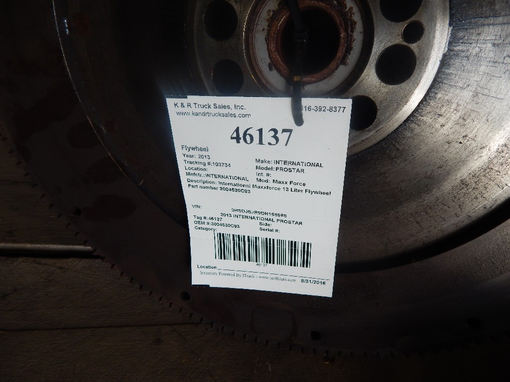 Flywheel for 2013 INTERNATIONAL PROSTAR for sale-59216526