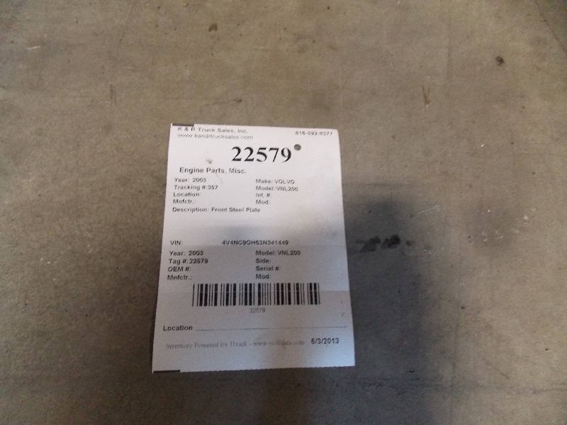 Engine Timing Cover for 2003 VOLVO VNL200 for sale-59070283