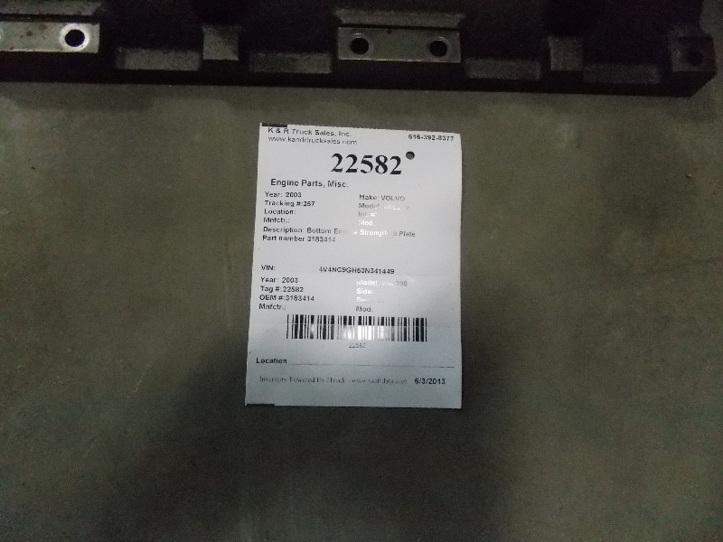 Engine Valve Cover for 2003 VOLVO VNL200 for sale-59080224