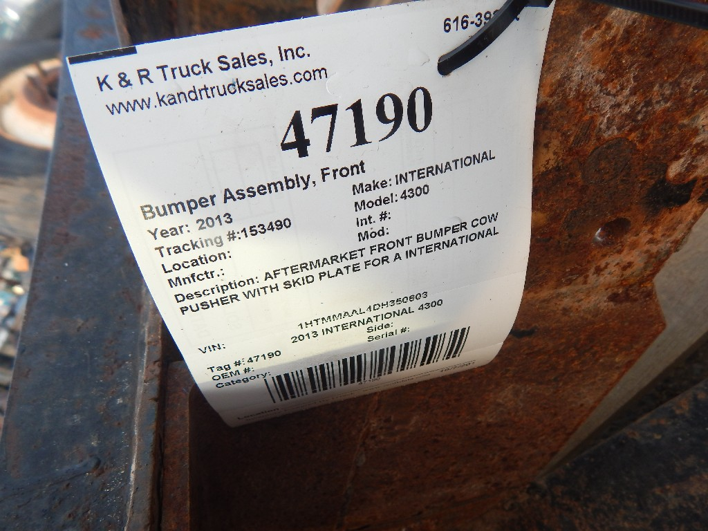 Bumper Assembly for 2013 INTERNATIONAL 4300 for sale-59216632
