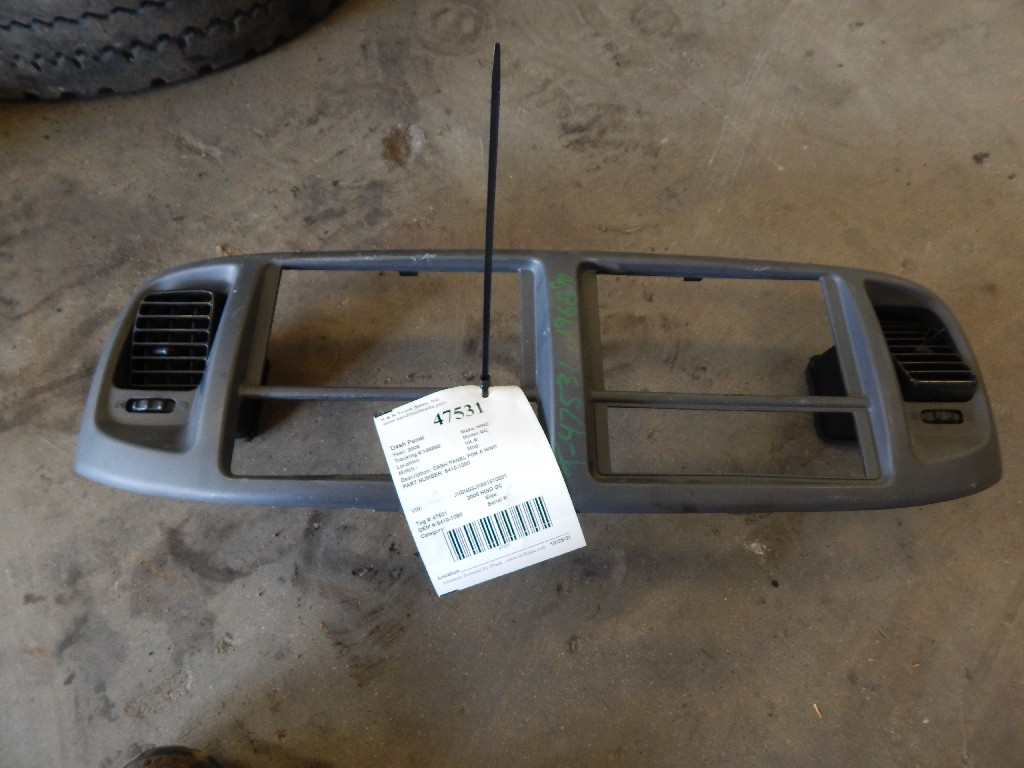 Dash Panel for 2005 HINO GC for sale-59216659