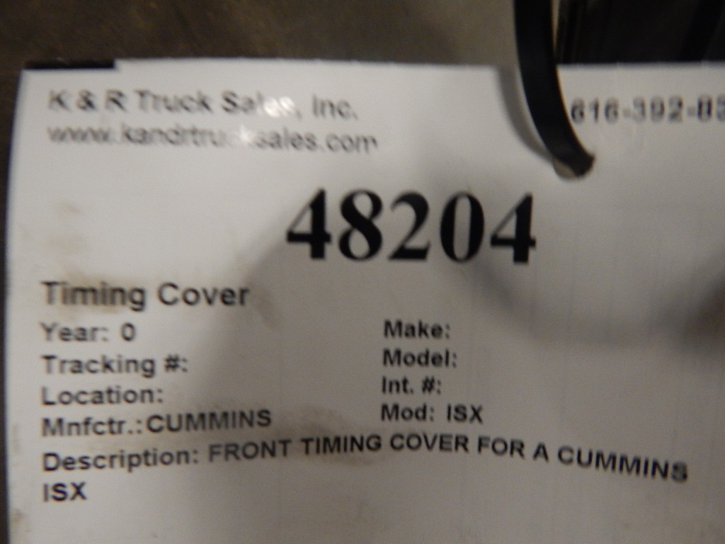 Engine Timing Cover for for sale-59216740