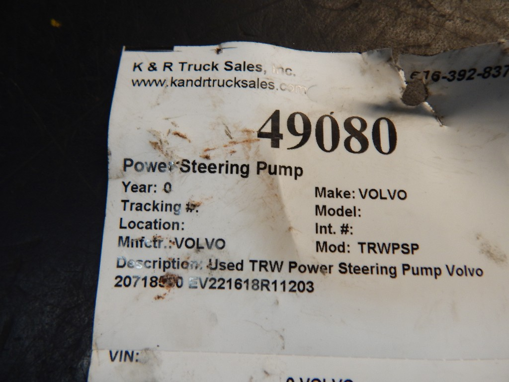 Steering Pump for  VOLVO for sale-58699111