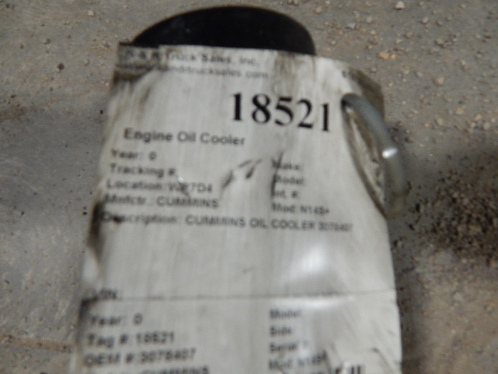 Engine Oil Cooler for for sale-59070011