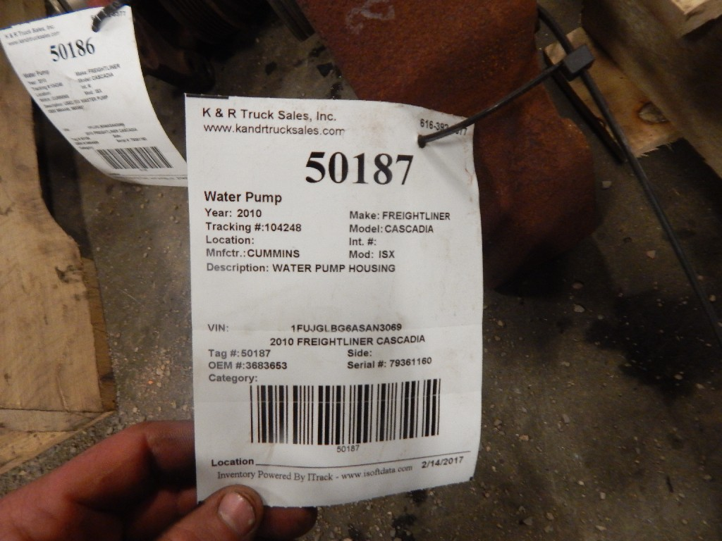 Water Pump for 2010 FREIGHTLINER CASCADIA for sale-59216931