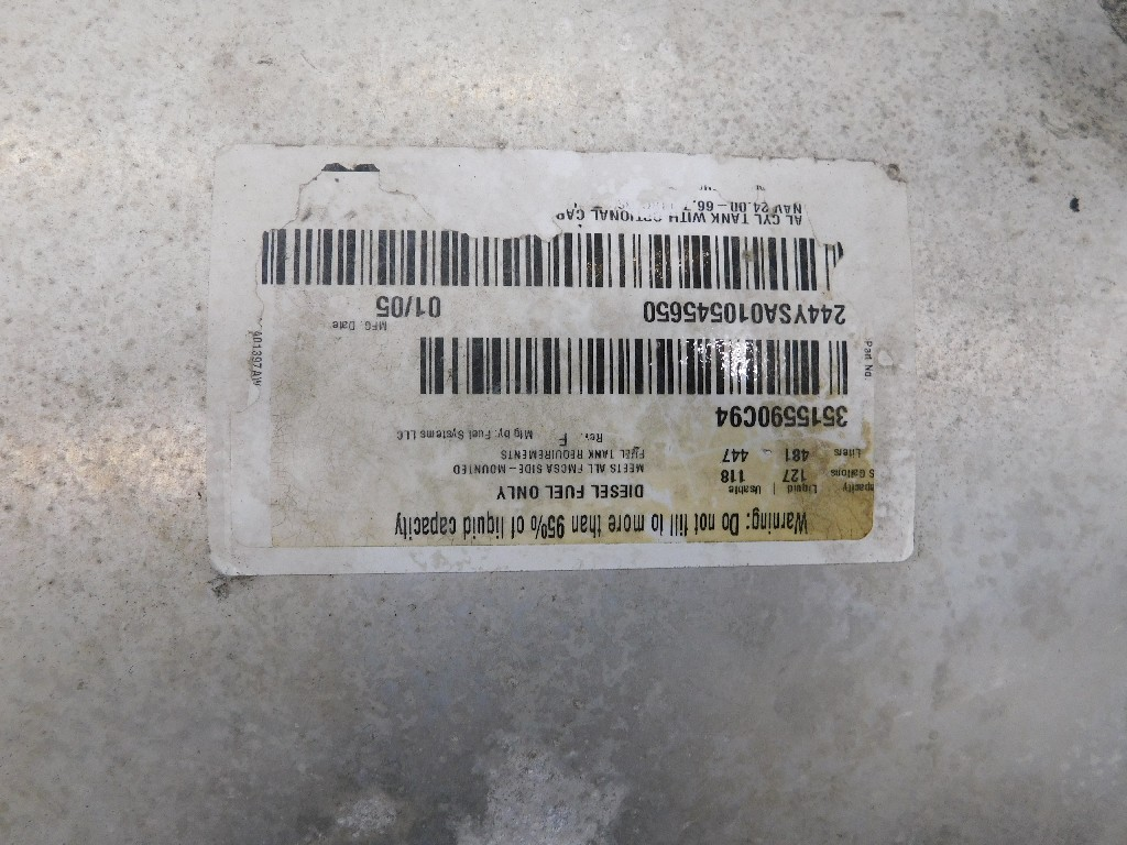 Fuel Tank for 2005 INTERNATIONAL 9200 for sale-59217177