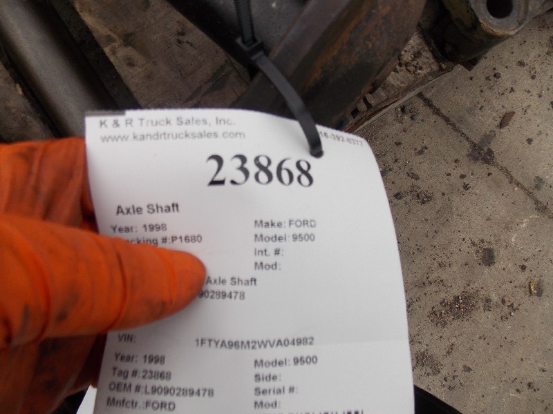Axle Shaft for 1998 Ford 9500 for sale-59285102