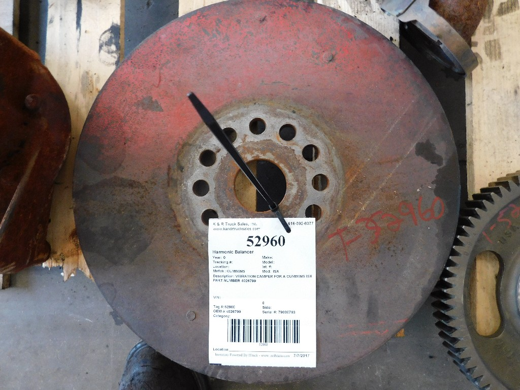 Engine Harmonic Balancer for for sale-59217310