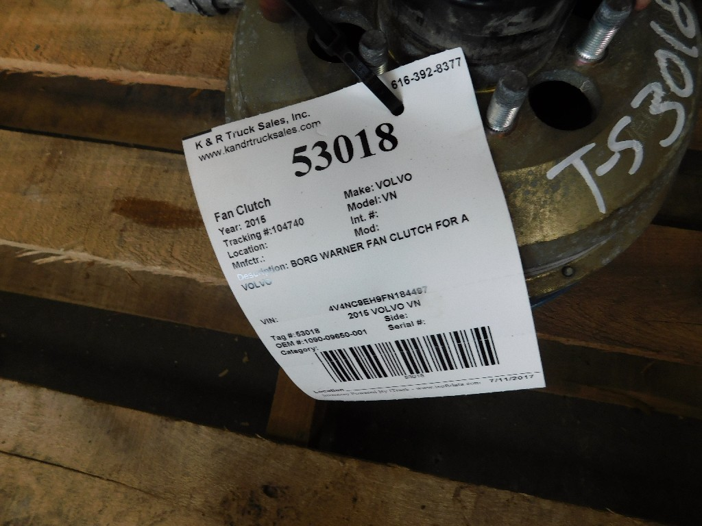 Fan Clutch for 2015 VOLVO VN for sale-59083605