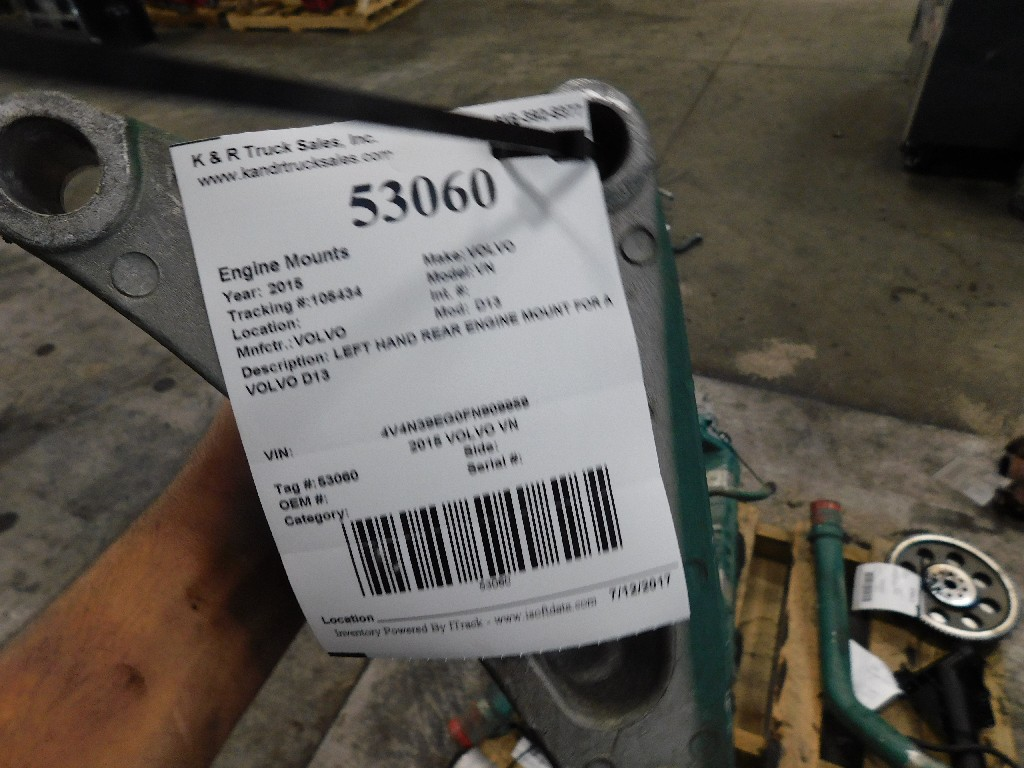 Engine Mounts for 2015 VOLVO VN for sale-59217324