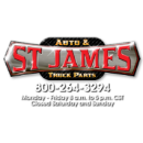 St. James Auto & Truck Parts Logo
