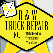 B & W TRUCK REPAIR INC. logo