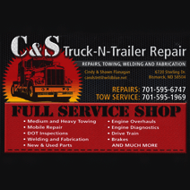 C & S Truck-N-Trailer Repair logo