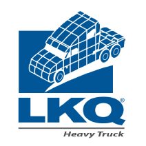(1861) LKQ Heavy Truck - TH Evans Logo